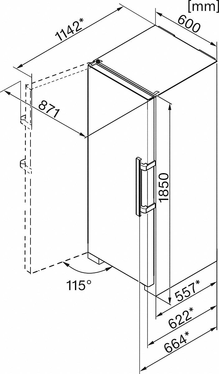 Refrigeration Miele: Miele FN 28262 edt/cs